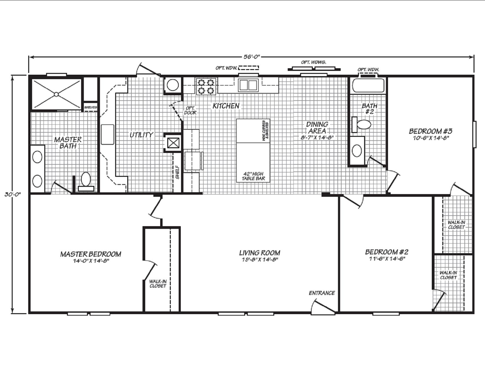 Display Home 464 Floor Plan