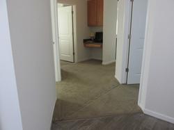 Hallway and Desk