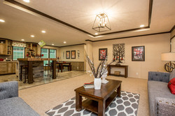 Living Room & Kitchen & Dining Room