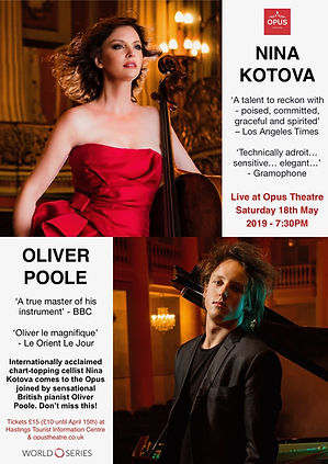NINA KOTOVA & OLIVER POOLE MAY 18TH OPUS
