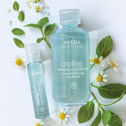 Image result for aveda blue oil cooling oil