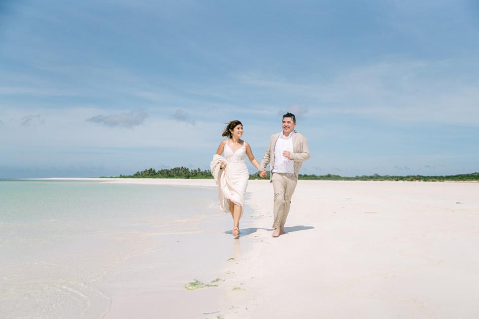 Amanpulo Island Wedding