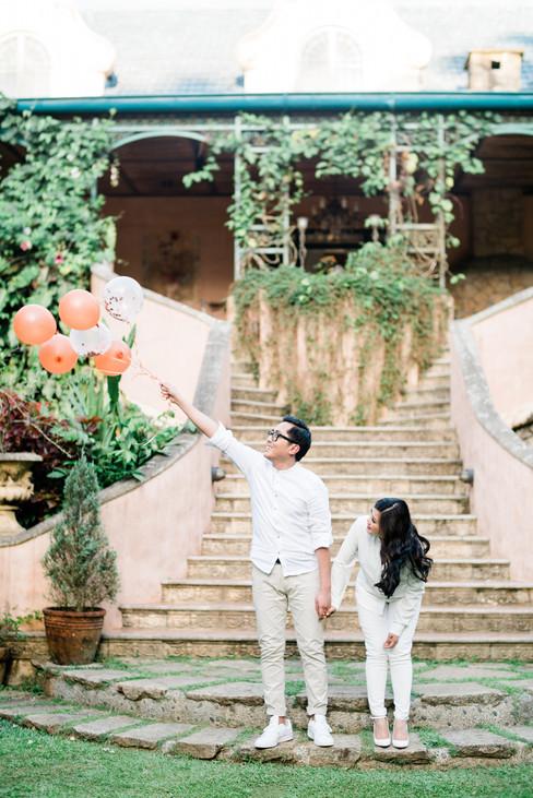 two gardens tagaytay, tagaytay prenup, k