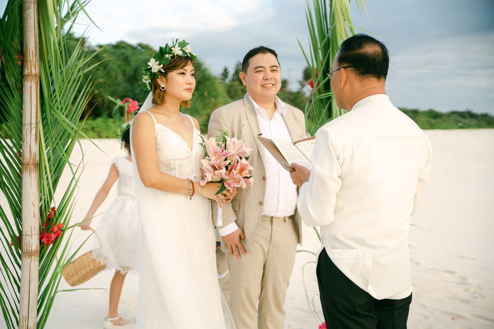 amanpulo wedding