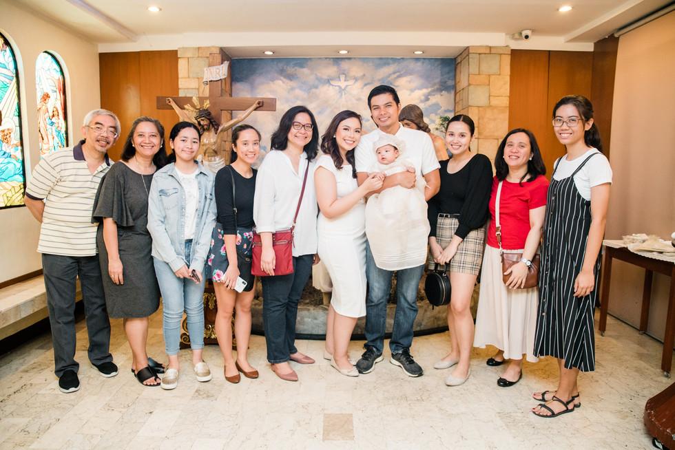santuario de san jose baptism, philippin