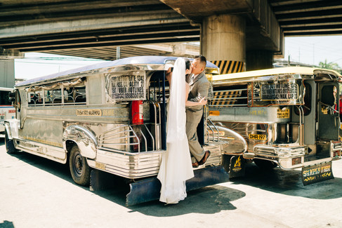 modern filipino wedding pictorial in a j