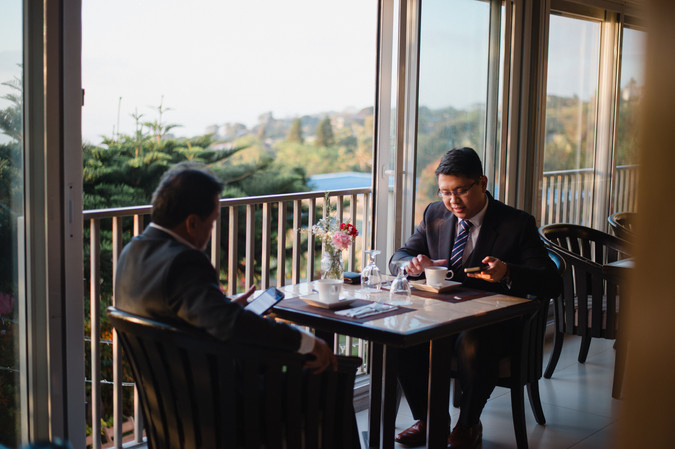 discovery country suites tagaytay weddin