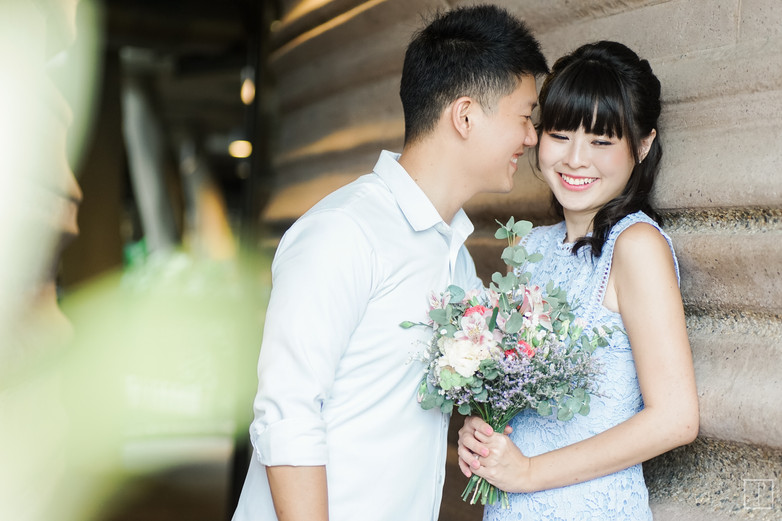 nanyang university pre wedding