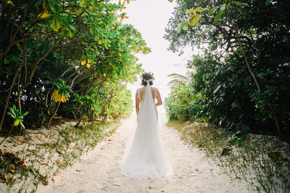 An Amanpulo Island Beach Wedding