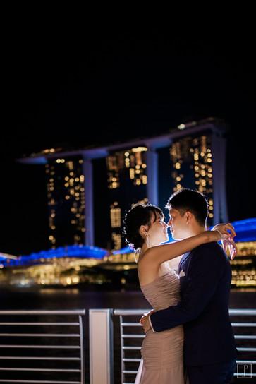 singapore prenup, singapore wedding, dayre bride, tope ten singapore photographer, singapore videographer, marina bay sands prenup, marina bay sands engagement session