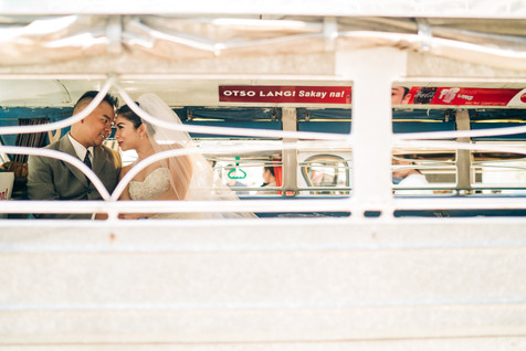 modern filipino wedding pictorial in a j