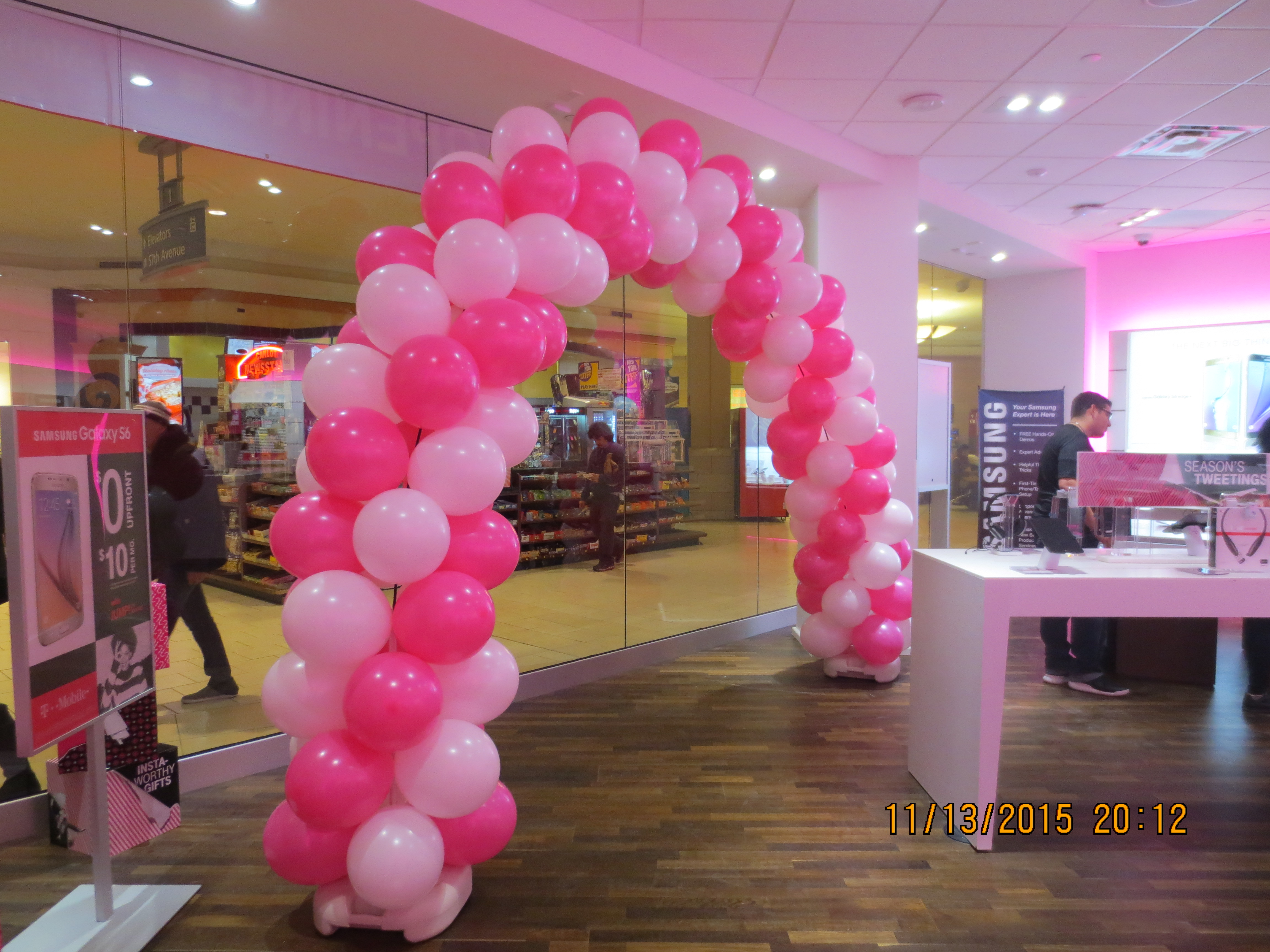 Triple Balloon Arch