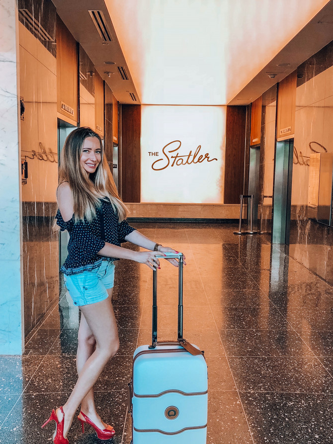 My Perfect Travel Companion: Delsey Suitcase