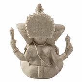 Sandstone Ganesha Buddha Elephant Statue Sculpture Handmade Elephant Figurine H