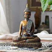 Buddha statues Thailand Buddha statue sculpture home decor office desk ornament