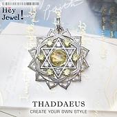 Pendant Heart Chakra Ornament 925 Sterling Silver J