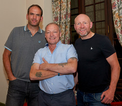 Michael And Rugby Players