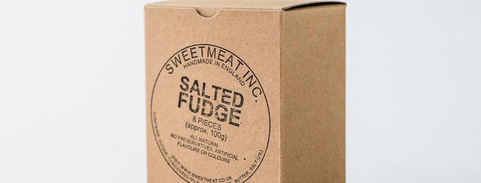 SALTED FUDGE