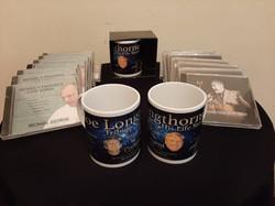 mug and cd's