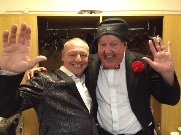 Michael and Jimmy Cricket