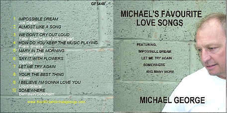 Michael George Favourite Love Songs Album
