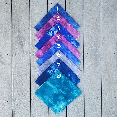 Tie Dye8 Cotton Fringe