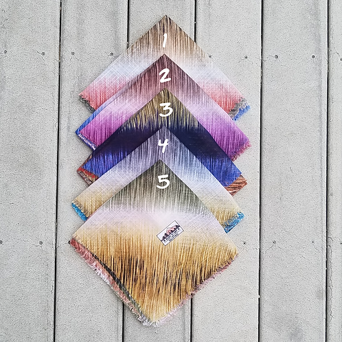 Stripes Cotton Fringe