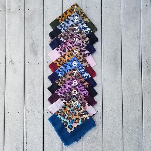 Colorful Leopard Cotton Fringe