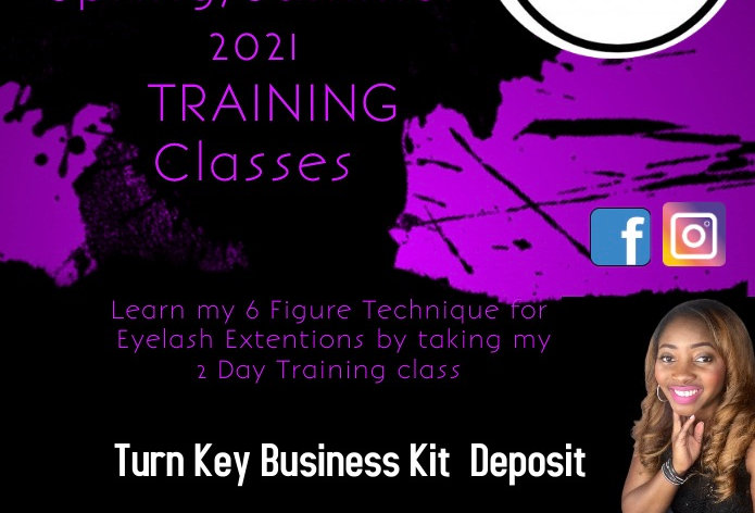 Edna's Lash & Brow Academy Private Turn Key Business Kit