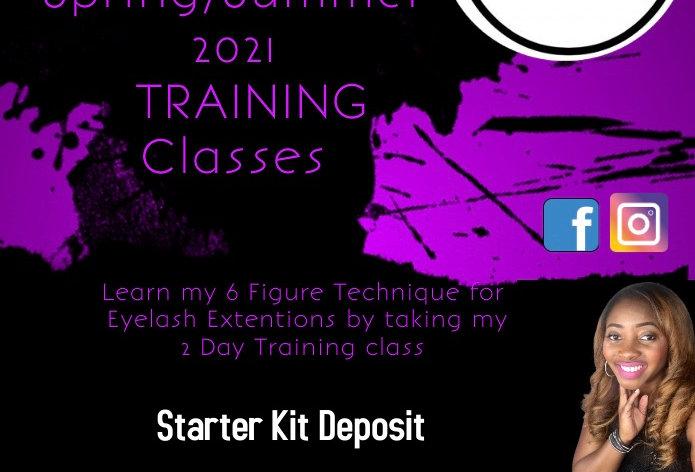 Spring & Summer Eyelash Extension Training classes Birmingham, Al Aug 7 & 8