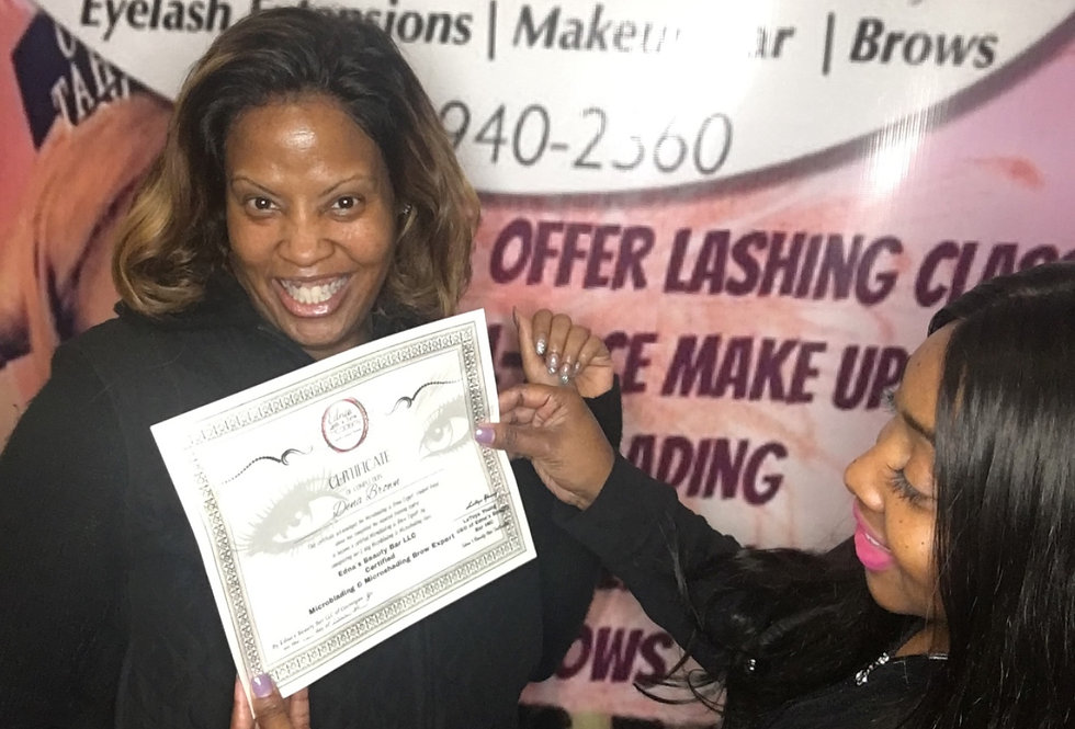 Eyelash Extension  Refresher Training