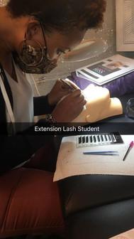 Eyelash Extentions Training