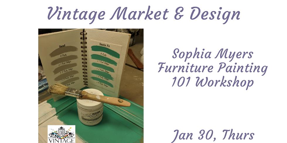 Vintage Market & Design Chalk painting 101 Workshop