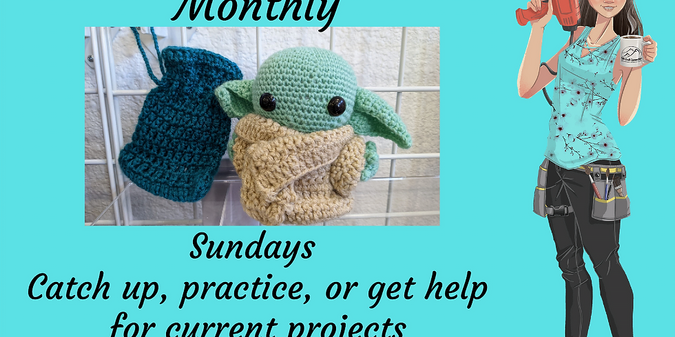 Crochet Workshop - June BONUS Wksp