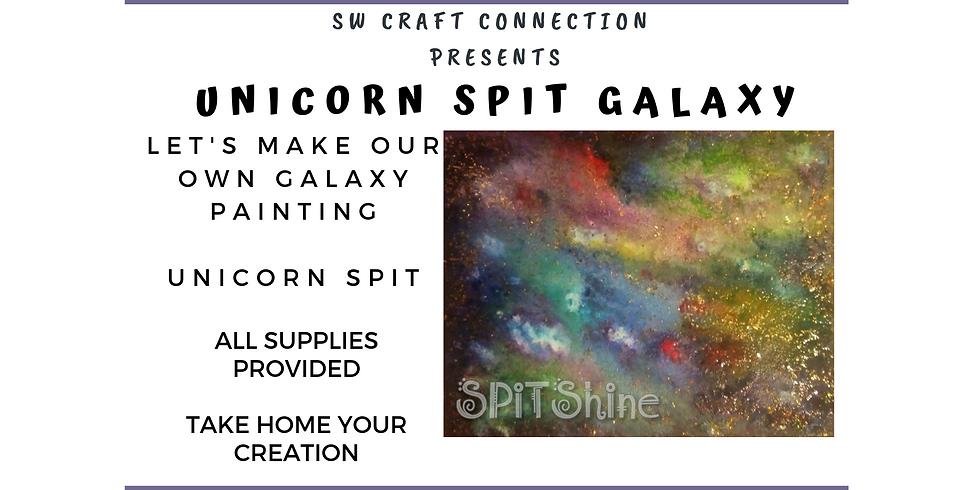 Unicorn SPiT Galaxy Painting