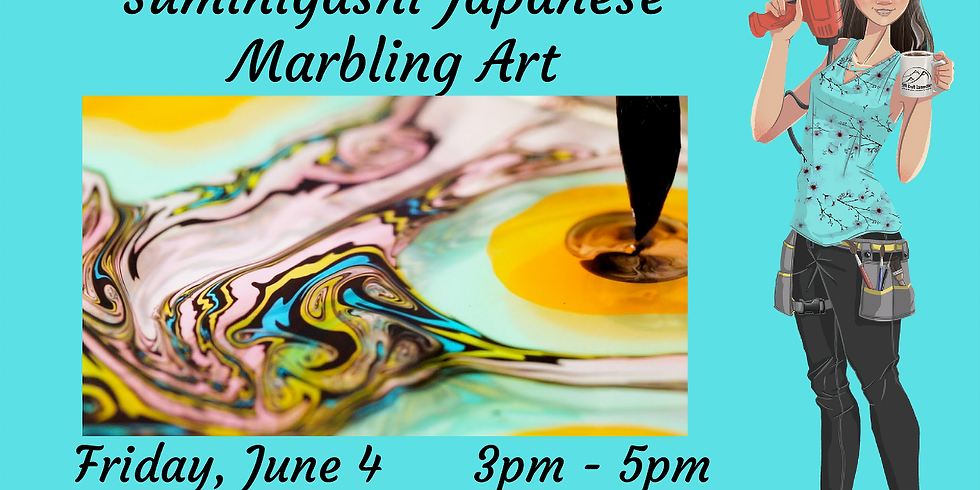 Suminigashi Japanese Marbling Art