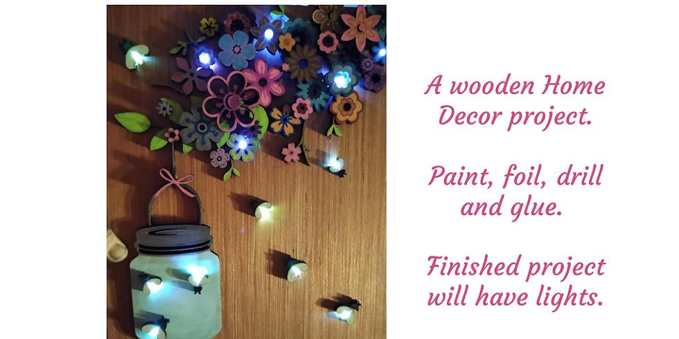 Fireflies Wood Project