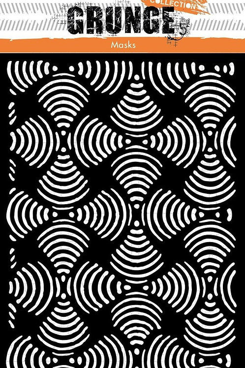 Studio Light Grunge Stencils - Funnels, MASKSL53