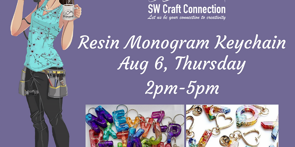 Making your own Keychain Monograms