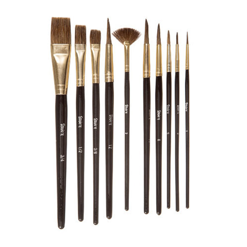 Studio 71 Natural Brush Set - 10 pcs