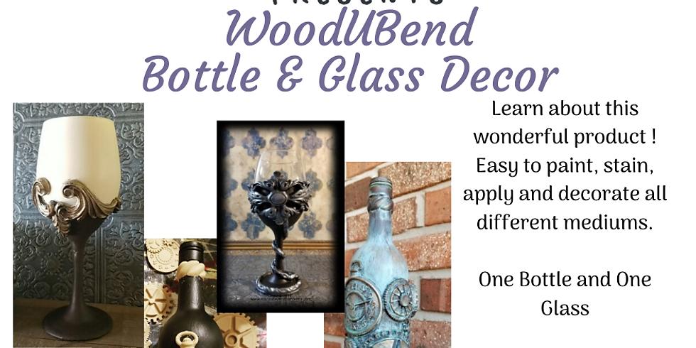 WoodUBend Bottle & Glass Decor