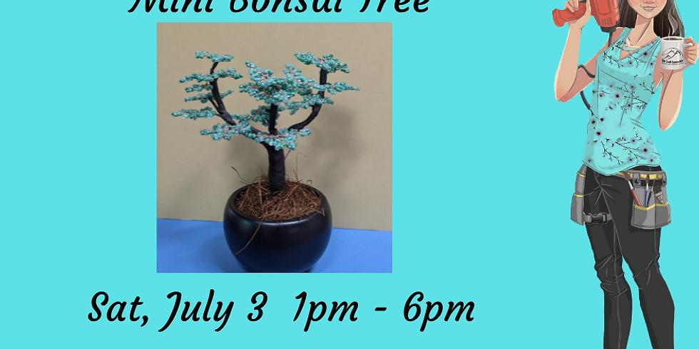 Intro to French Beading - Mini Bonsai Tree