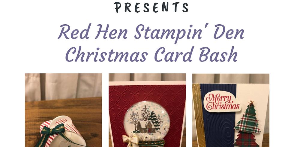 Stampin'Up Christmas Card Bash