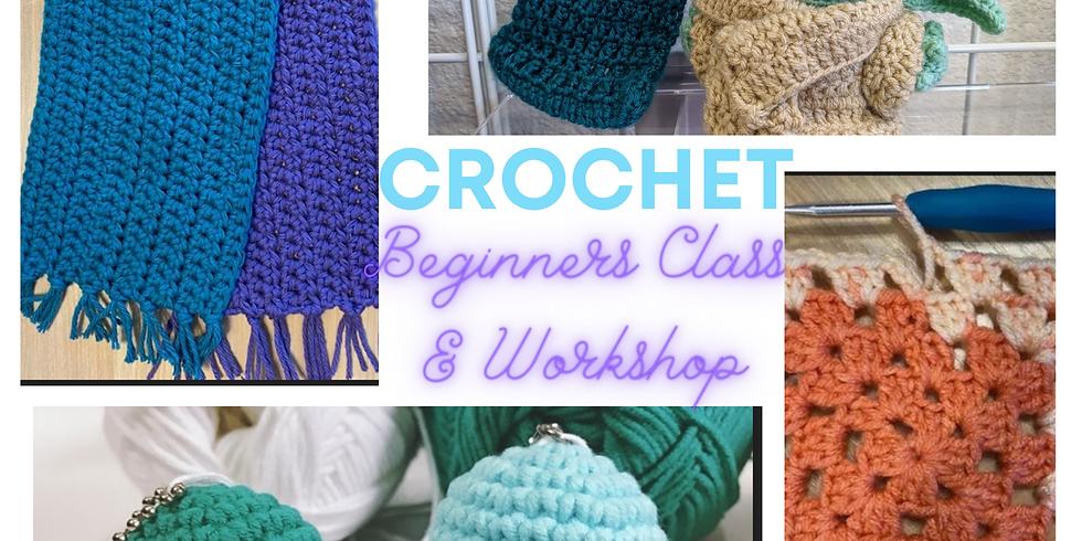 Beginner Crochet Class & Workshop (June)