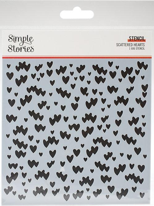 Simple Stories - Kate & Ash Hearts, SSKA13124