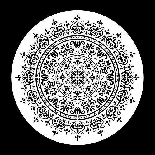 Posh Chalk Stencil - Wood U Mandala