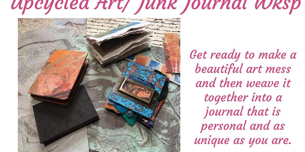 Upcycled Art/ Junk Journal Workshop