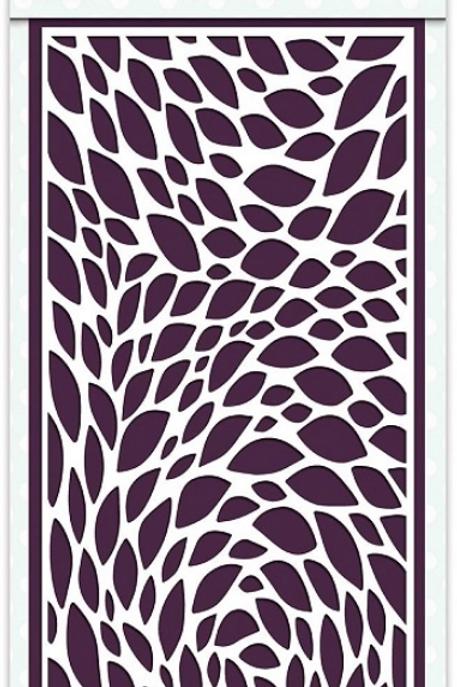 Creative Expressions - Slimline Stencils Floral Swirl, CEST034