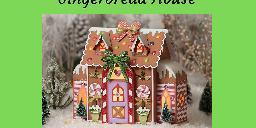 3D Paper Connection - Gingerbread House