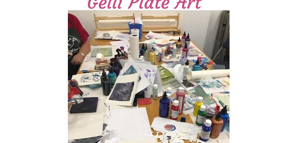 Gelli Plate Art - Advanced Techniques